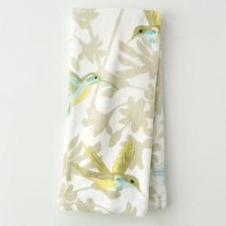 Peri  - Garden Pond Floral Hand Towel