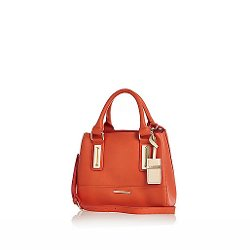 River Island - Orange Mini Tote Bag