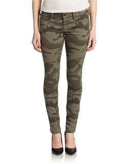 Lord & Taylor - True Religion Camo Skinny Jeans