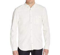 7 For All Mankind  - Regular-Fit Bleached Cotton Oxford Sportshirt