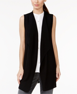 Eileen Fisher - Ribbed Wool Long Cardigan