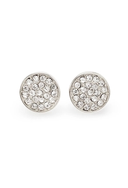 Forever21 - Rhinestone-Encrusted Disc Studs