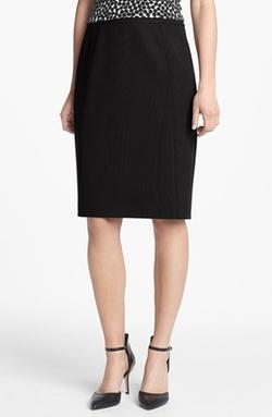 Halogen  - Seamed Pencil Skirt