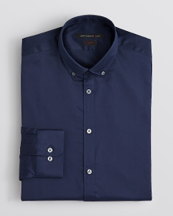 John Varvatos - Solid Twill Dress Shirt