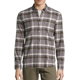 Burberry - Taupe Nova Check Cotton Shirt