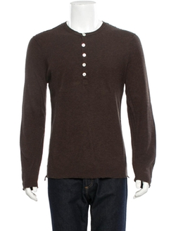 Inhabit - Henley Knit Shirt