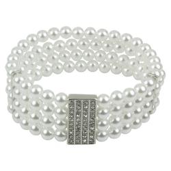 Target - Pearls Bracelet with Crystals
