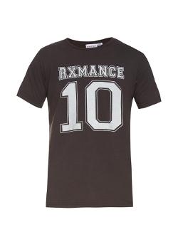 Rxmance - Logo-Print Cotton-Jersey T-Shirt
