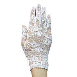 Simplicity - Floral Lace Short Gloves
