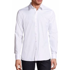 Hugo Boss - Slim-Fit Solid Woven Shirt