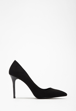 Forever21 - Faux Suede Pointed Pumps