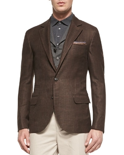 Brunello Cucinelli - Glen Plaid Sports Jacket