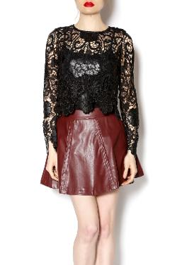 Shoptiques - Long Sleeve Lace Top