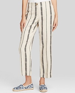 Tory Burch - Carrie Stripe Pants