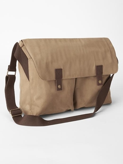 Gap - Waxed Canvas Messenger Bag