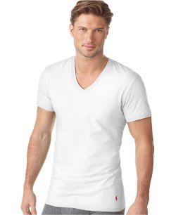 Ralph Lauren - Classic Cotton V Neck T Shirt