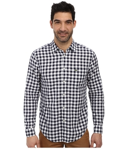 Lacoste  - Poplin Long Sleeve Gingham Shirt
