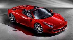 Ferrari - 458 Spider Car