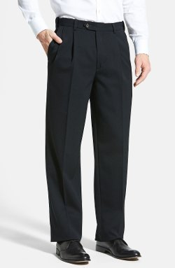 Berle - Pleated Wool Gabardine Trousers