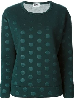 Sonia by Sonia Rykiel - Polka Dot Sweater