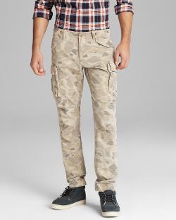 Gant by Michael Bastian  - Perfect Camo Slim Fit Cargo Pants
