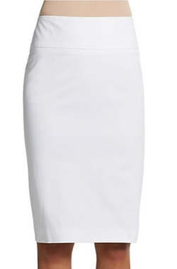 Peserico  - Stretch Cotton Pencil Skirt