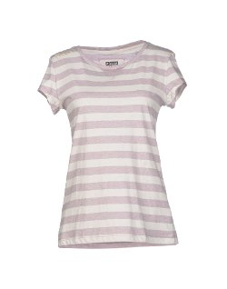 Freddy - Jersey Stripes Round Collar T-Shirt