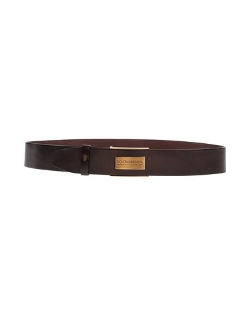 Dolce & Gabbana - Solid Color Leather Belt