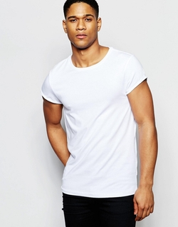 Asos - Roll Sleeve T-Shirt
