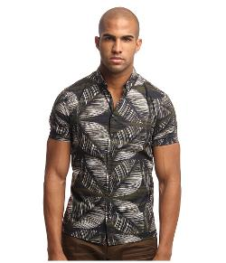 Dsquared2  - Printed Poplin Idraulic  Button Up