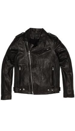 IRO  - Evan Perfecto Leather Jacket