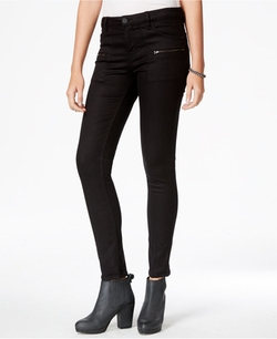 Sanctuary - Zipper-Pocket Skinny Pants