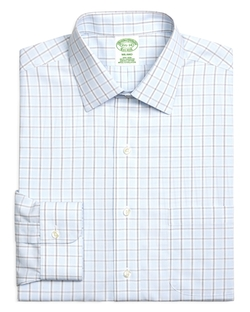 Brooks Brothers - Milano Check Slim Fit Button Down Shirt