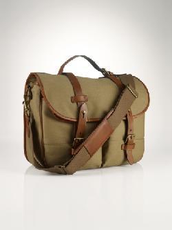Polo Ralph Lauren  - Canvas & Leather Messenger