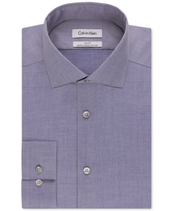 Calvin Klein - Textured Solid Dress Shirt