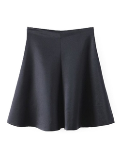 Chicnova - A-Line Mini Skirt
