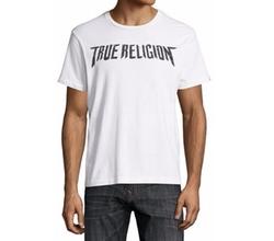 True Religion - Logo & Skull-Print Short-Sleeve Graphic T-Shirt