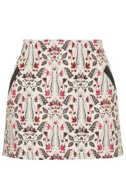 Jacquard  - Pelmet Skirt