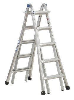 Werner - Duty Rating Telescoping Multi-Ladder