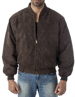 Reed - Baseball Suede Leather Jacket