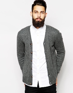 ASOS  - Lambswool Rich Cardigan