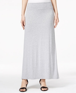 Kensie - Solid Knit Maxi Skirt
