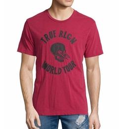 True Religion - World Tour Skull Graphic T-Shirt