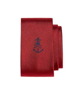 Brooks Brothers - Anchor With Golden Fleece Crossbone Slim Tie