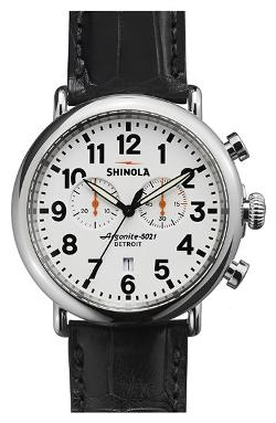 Shinola  - The Runwell Chrono Alligator Strap Watch