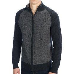 Forte Cashmere  - Jacquard Cardigan Sweater