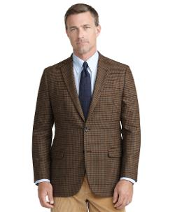 Brooks Brothers - Fitzgerald Fit Check with Deco Sport Coat