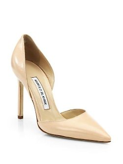 Manolo Blahnik - Tayler Leather d