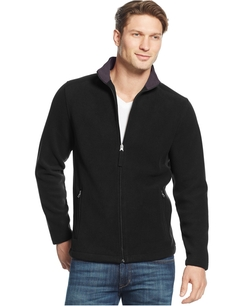 Club Room - Full-Zip Fleece Jacket
