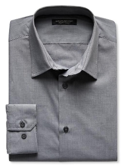Banana Republic - Slim-Fit Stretch Cotton Shirt